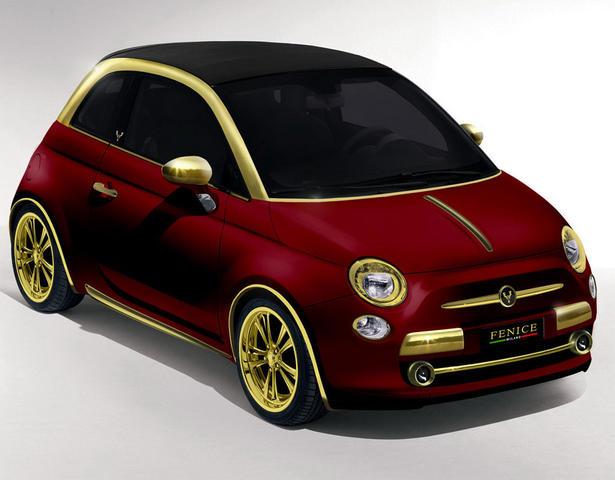 Fenice Gold Fiat 500c
