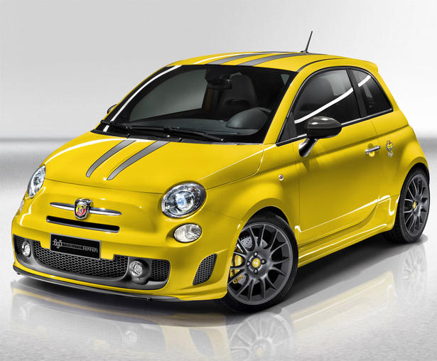 yellow abarth fiat 500 tributo ferrari. Black Bedroom Furniture Sets. Home Design Ideas