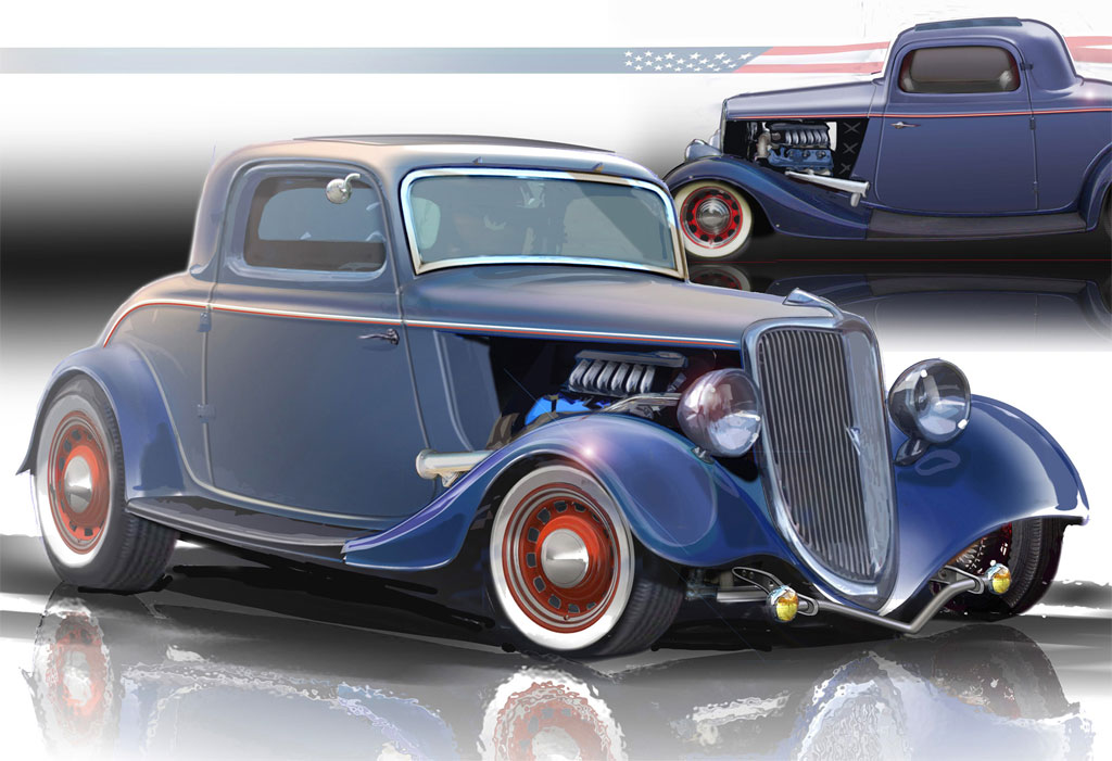 1934 ford 3 window coupe hot rod photo 4 7016 for 1934 ford 3 window coupe