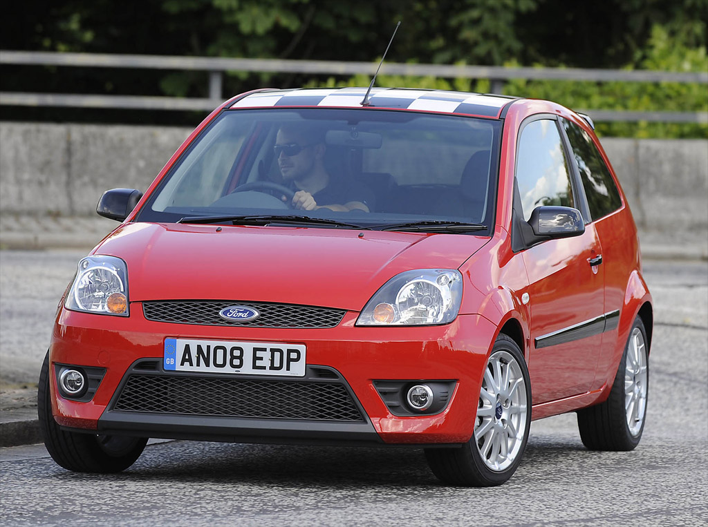 2008 ford fiesta zetec s red photo 1 3555. Black Bedroom Furniture Sets. Home Design Ideas