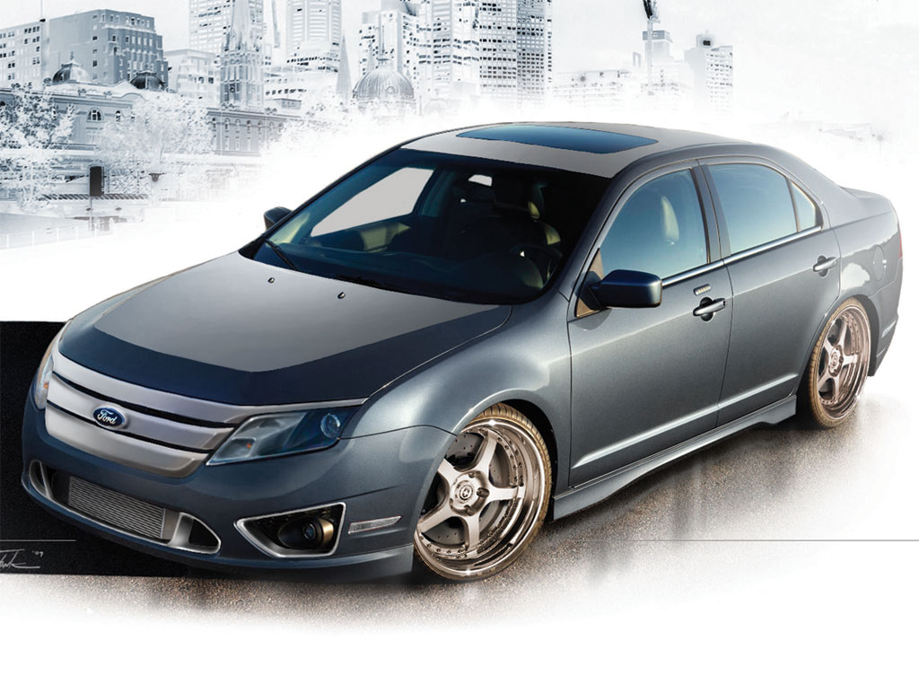 2010 Ford Fusion Sport Aaron Vaccar Signature Series Photo