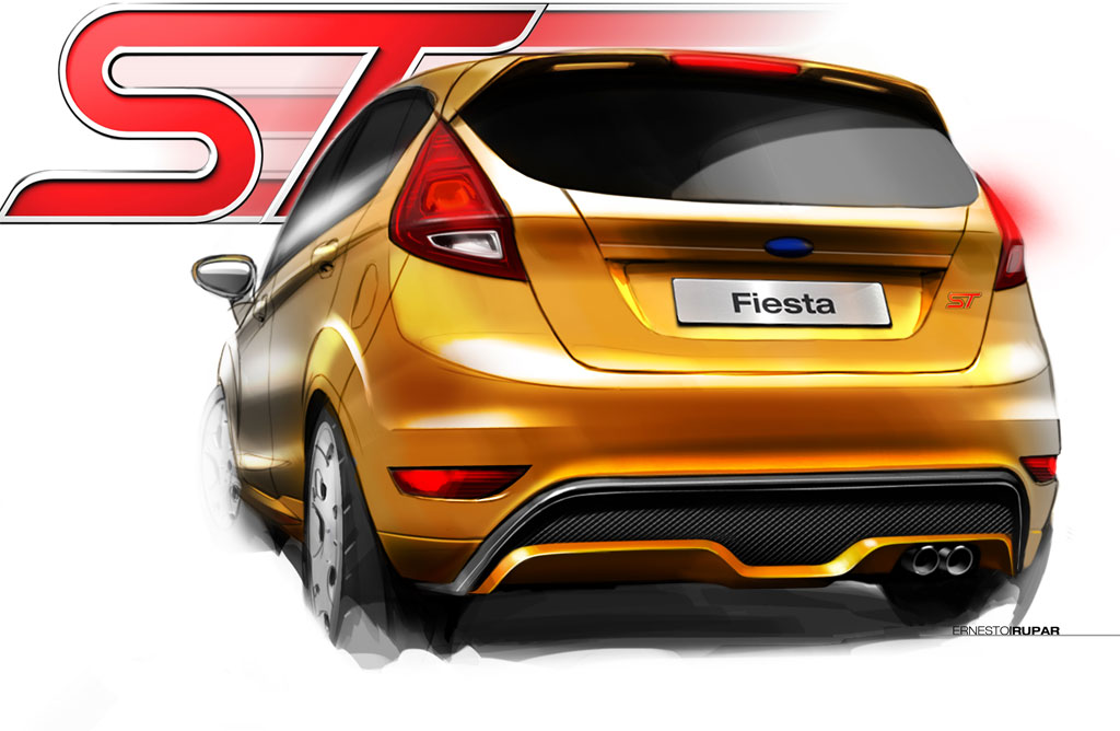2012 Ford Fiesta St Concept Photo 5 11648