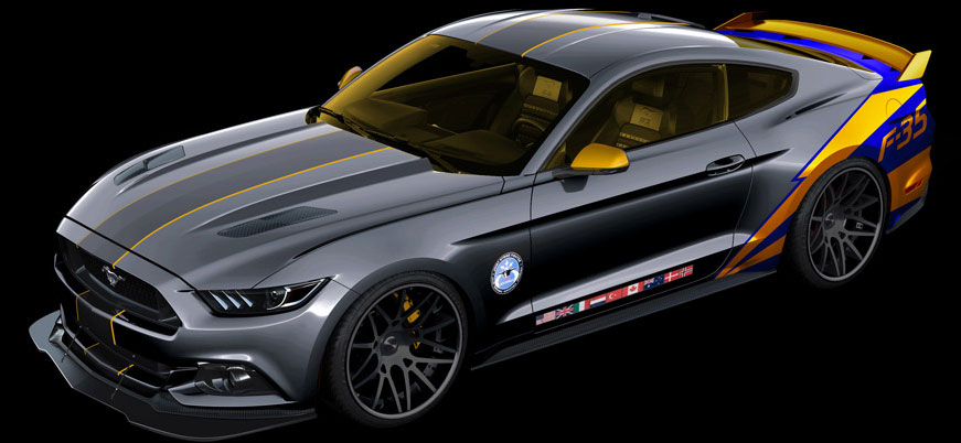 2015 ford mustang f35 lightning ii 1 2015 ford mustang inspired by f35
