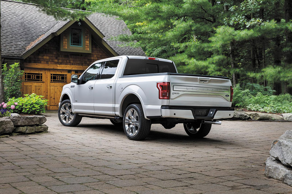 2016 Ford F150 Limited 8