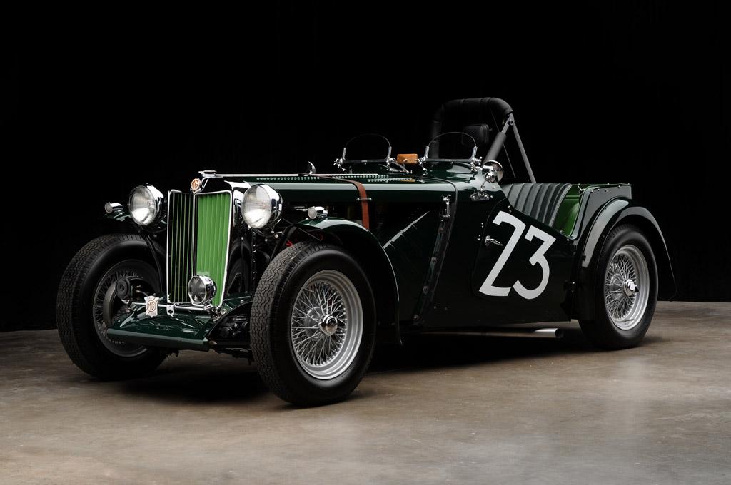 Carroll Shelby First Race Photo Car 3935