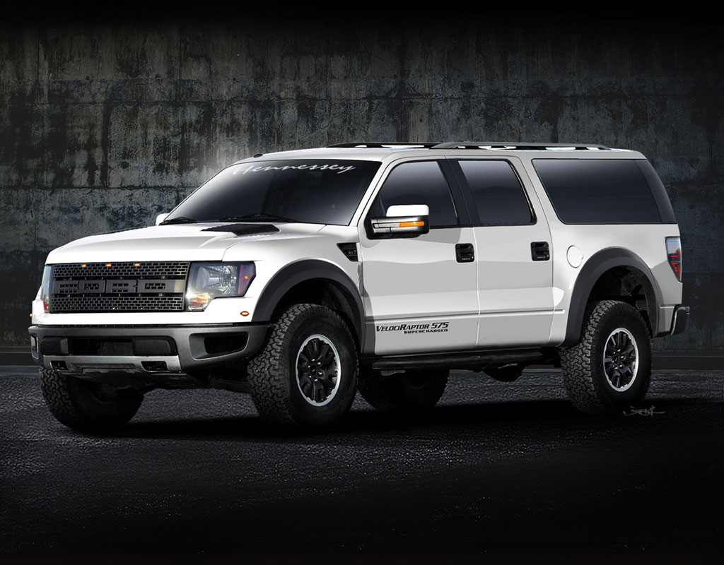 Hennessey APV Ford Raptor SuperCrew Photos - Image 1