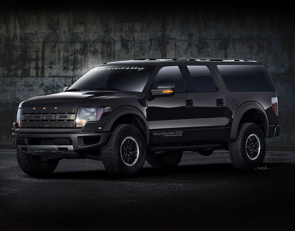 Hennessey APV Ford Raptor SuperCrew Photos - Image 4