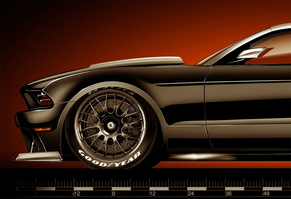 hollywood hot rods ford mustang photo 2 13465