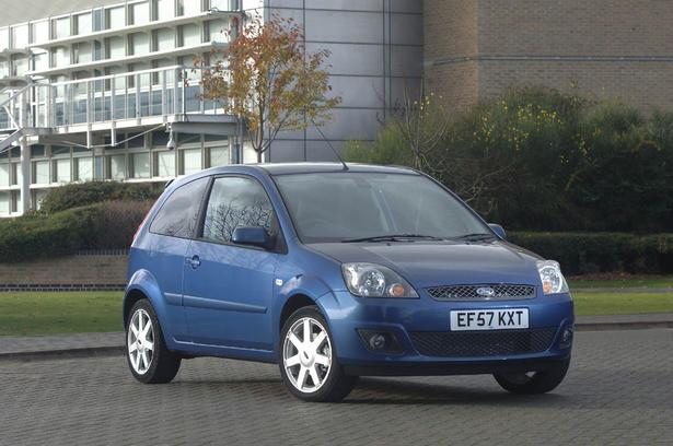 2008 Ford Fiesta Zetec Blue