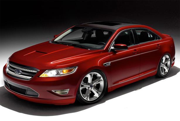 Ford Taurus Fusion Transit Edge Focus And Flex At 2009