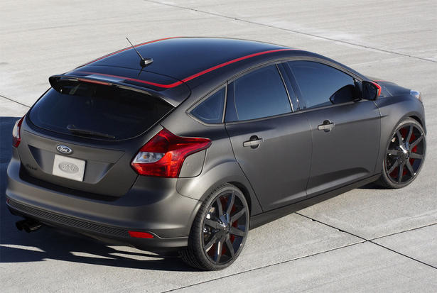Paint Mix  Ford Focus Red