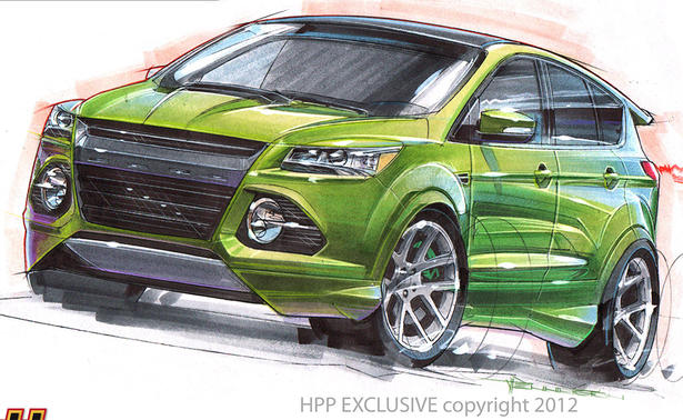 Ford Transmission Settlement >> 2013 Ford Escape And Explorer At 2012 SEMA