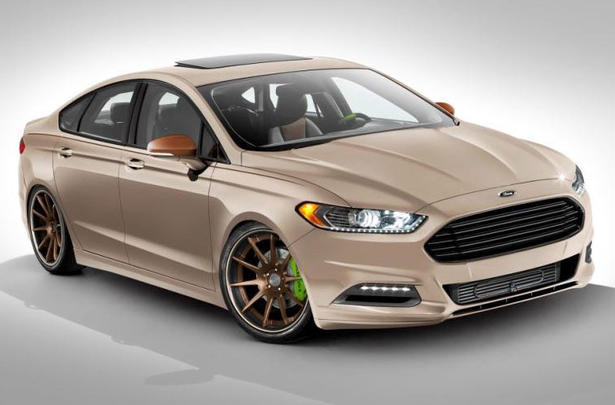 2013 ford fusion at 2012 sema. Black Bedroom Furniture Sets. Home Design Ideas