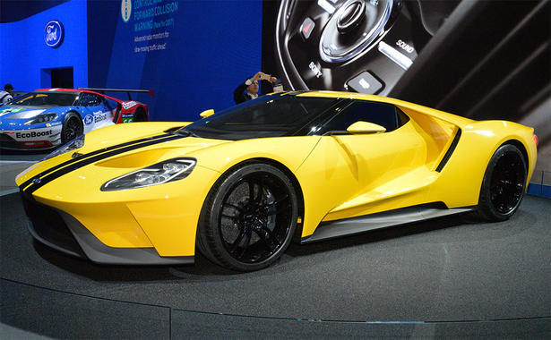 2016 ford gt takes the la auto show by storm. Black Bedroom Furniture Sets. Home Design Ideas