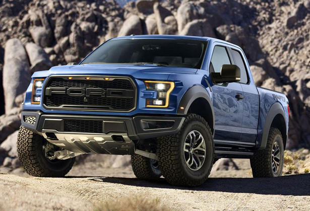 Dimensions ford f150 raptor
