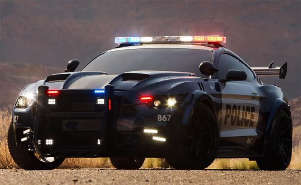 Barricade Ford Mustang Police Interceptor Introduced For Transformers 5
