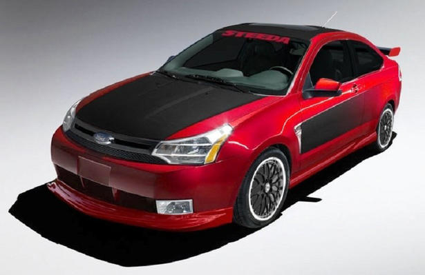 Modified 2008 Ford Focus At Sema