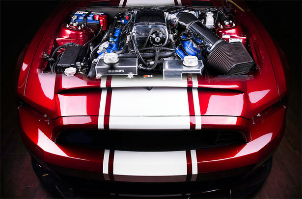 Ford Shelby Mustang Gt500 Super Snake Powerkit And