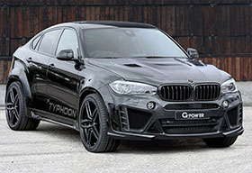G Power BMW X6M Gets 750 hp Powerkit And Body Kit Photos