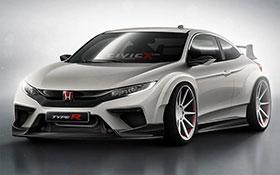 Honda Civic Type R Render Looks Pretty Good Photos