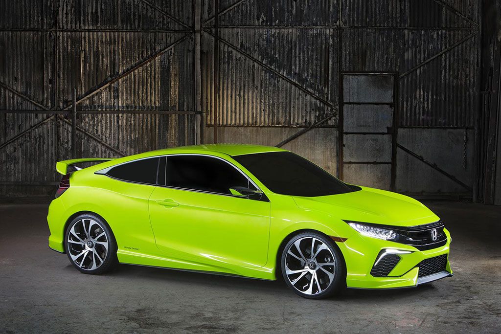 2016 Honda Civic Coupe Concept Photo 18 14505