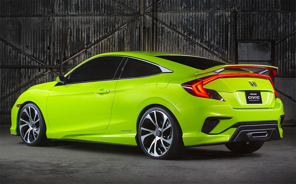 2016 Honda Civic Coupe Concept Photos  Image 2