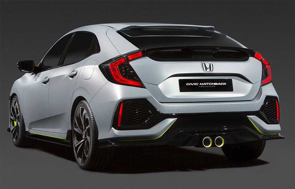 2017 Honda Civic Hatchback Concept Photo 2 14940