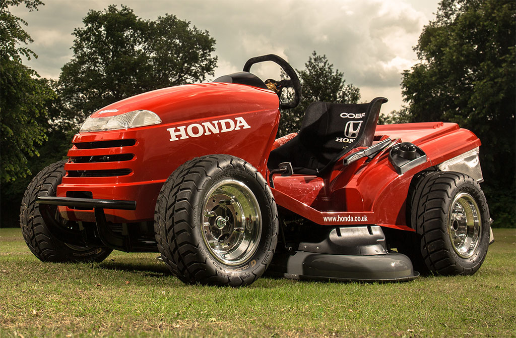 Honda Lawn Mower Gets 109 Hp