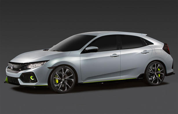 2017 Honda Civic Hatchback Concept