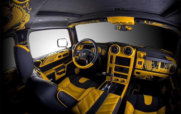 Hummer H2 Interior Upgrades By Vilner