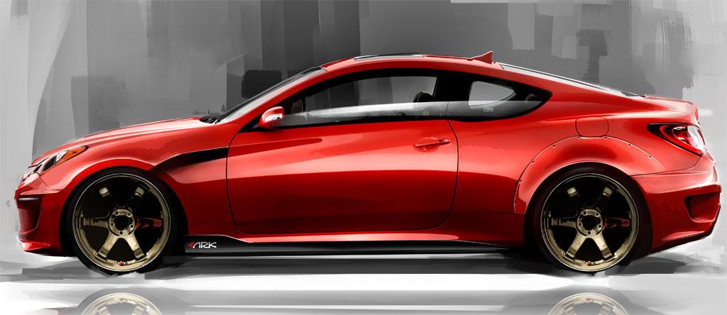 Ark Hyundai Genesis Coupe Photo 1 9862
