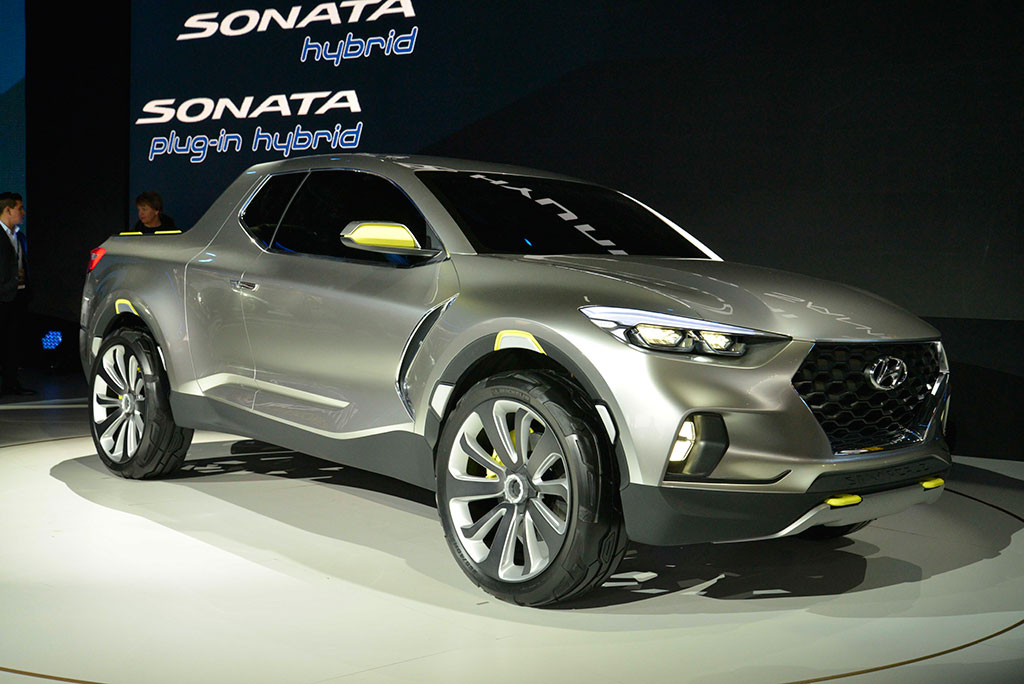 Hyundai Santa Cruz Crossover Photo 4 14399