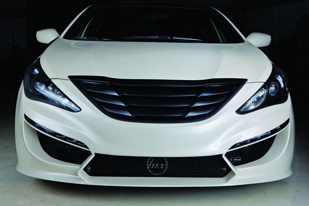 Hyundai Sonata Turbo. SEMA Hyundai Sonata Turbo 2.