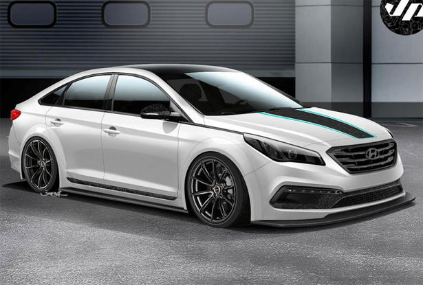 Hyundai Sonata Body Kit And Powerkit Jp Edition