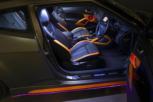 Hyundai veloster street concept - Hyundai veloster interior accessories ...