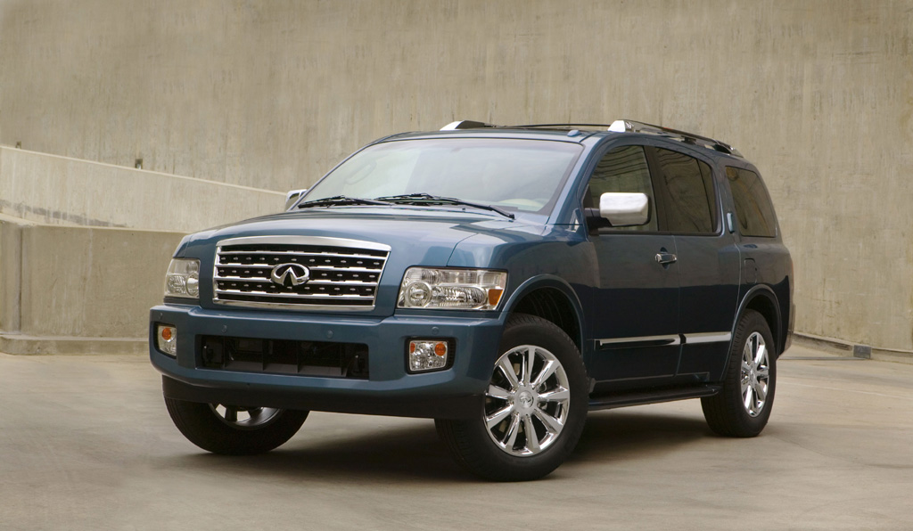 2008 infiniti qx56 full size luxury suv photo 1 697