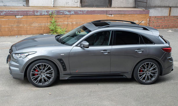 Infiniti Qx70 Powerkit And Body Kit By Ahg Sports