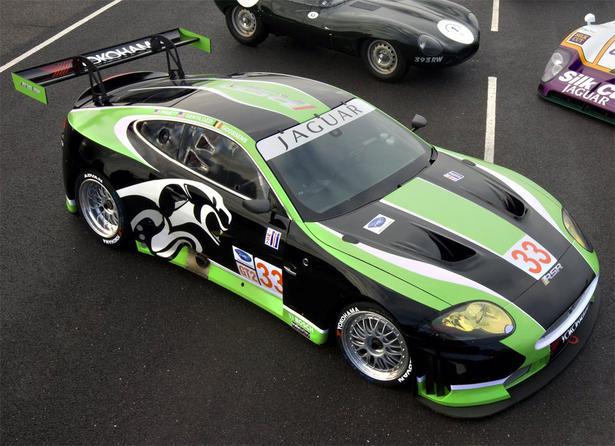 Jaguar RSR XKR GT2 at Le Mans 2010