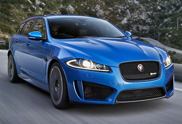Jaguar xfr s sportbrake - photo#14