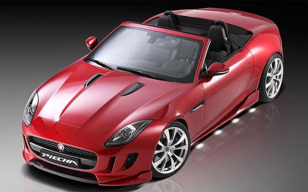 Jaguar F Type Body Kit by Piecha Design
