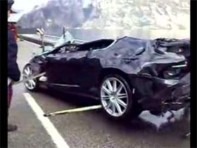 Aston Martin on Aston Martin Dbs Crash Video Home News Aston Martin James Bond Aston