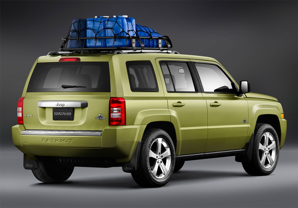 Jeep Patriot Back Country Photos - Image 5