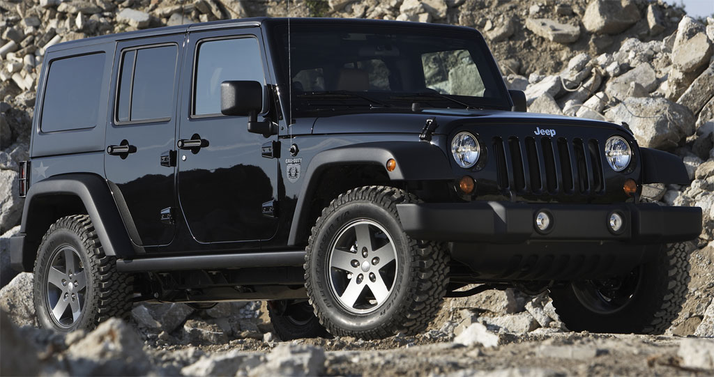 Jeep Wrangler Call Of Duty 1