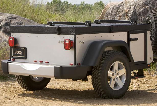 Jeep Mopar Off Road Camper Trailer