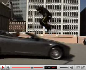 Kobe Bryant Car Stunt Video
