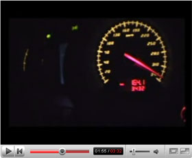 Lamborghini Gallardo Superleggera Top Speed Run
