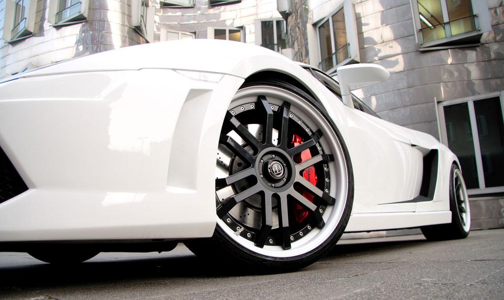 Lamborghini Gallardo White Awesome Ride