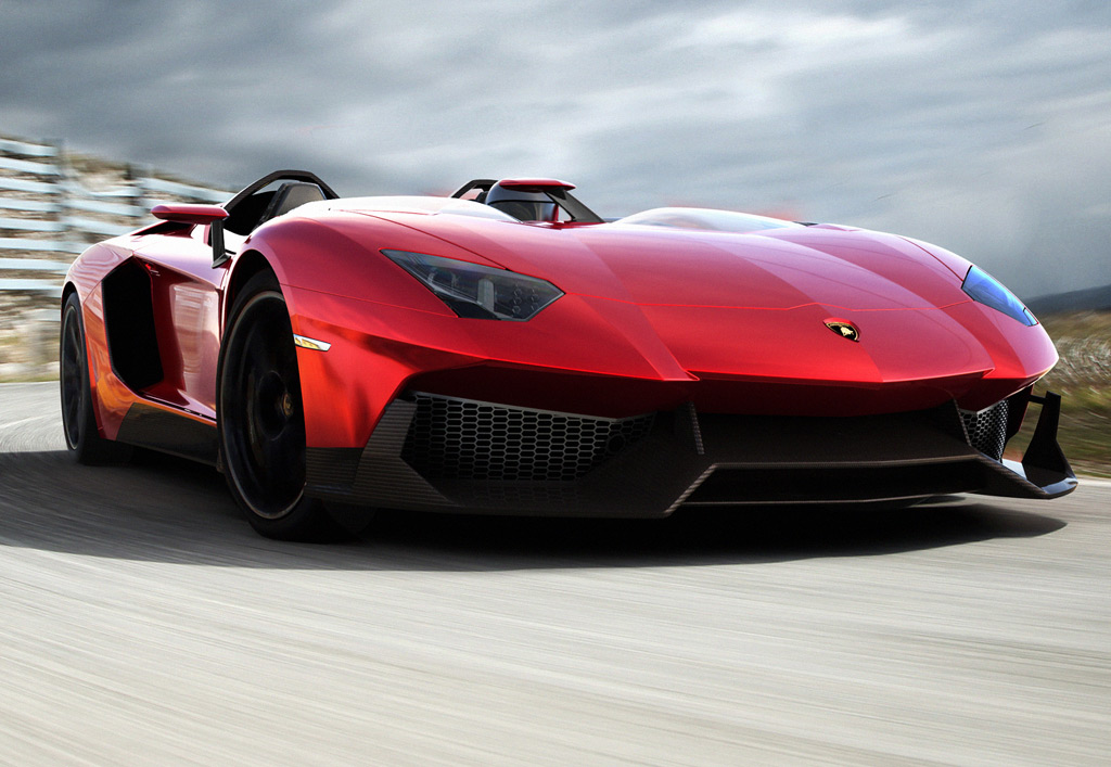 Lamborghini Aventador J Photo 6 12183