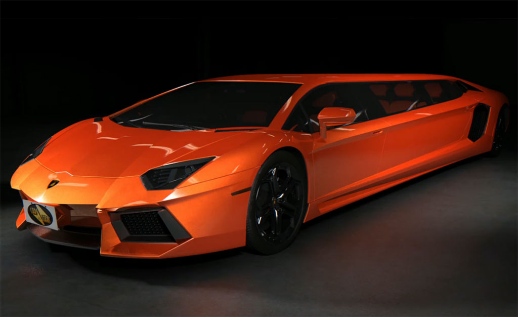 Lamborghini Aventador Limousine Photo 1 13024