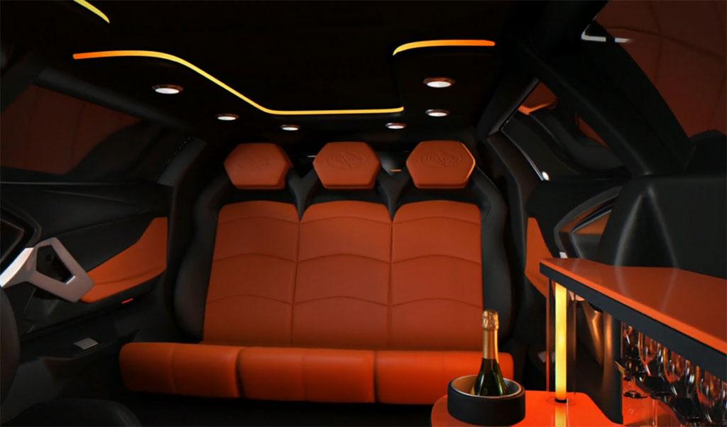 Lamborghini Aventador Limousine Photo 4 13024